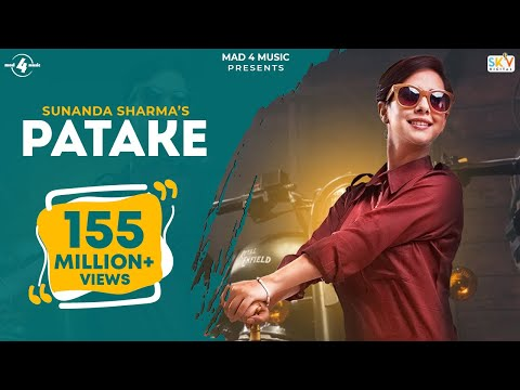 PATAKE Full Video SUNANDA SHARMA Latest Punjabi Songs 2016