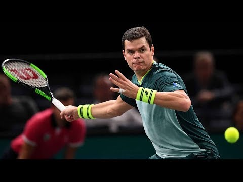 Milos Raonic | Miomir Kecmanović Indian Wells Tennis Player