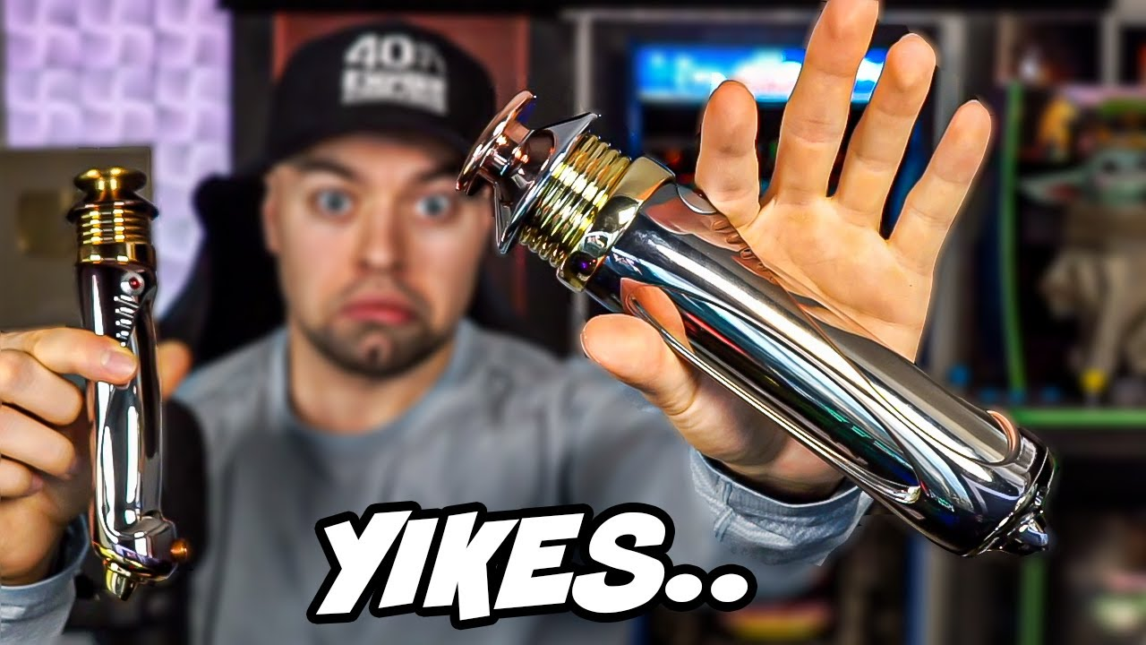 Darth Sidious Force FX Lightsaber Unboxing - NOT Worth the Money