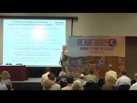 Charles Miller - 18th Annual International Mars Society Convention