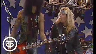 """Программа А. Московский международный фестиваль мира. Motley Crue """"All In The Name of Rock"""" (1989)"""