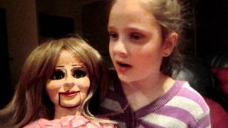Youngest ventriloquist 8 years old funny video girl Tara Thumbnail