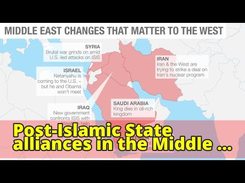 Post-Islamic State alliances in the Middle East