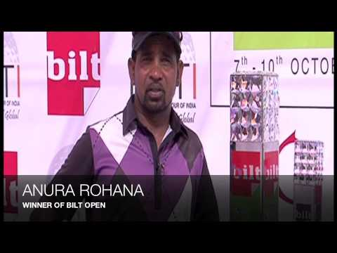 Anura Rohana from Srilanka wins BILT Open
