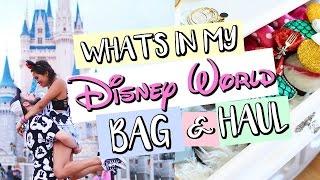 What's Inside My Disney World Bag & Souvenir Haul | Belinda Selene