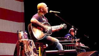 Aaron Lewis - What Hurts The Most (Rascal Flatts) HD Live in Lake Tahoe 8/06/2011