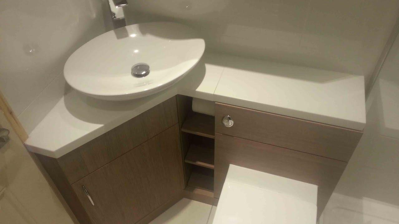 Corner Bathroom Sink Youtube