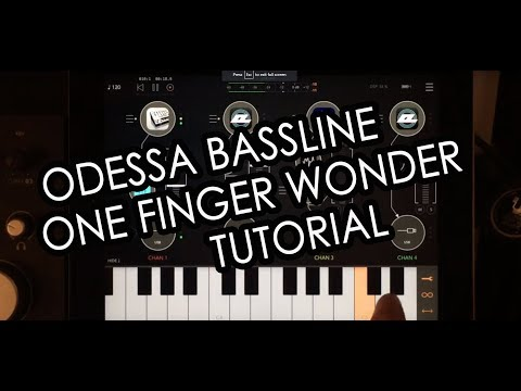 Rozeta (Odessa) Bassline Tutorial : One Finger Wonder