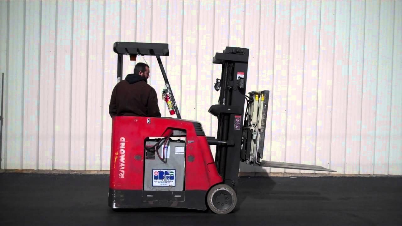 Raymond Lift Truck Tag 29221 Youtube