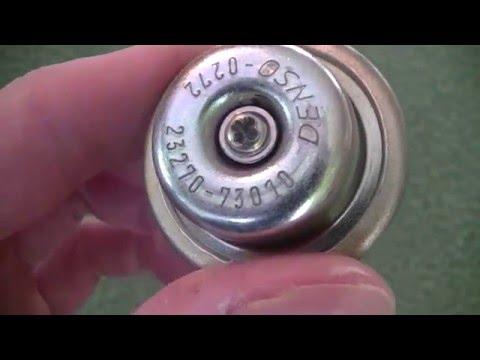 Fuel pulsation damper, fuel pressure, fuel rain leak, akumulator