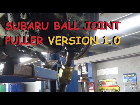 Homemade Subaru Ball Joint Puller