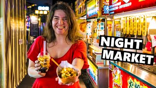 The BEST Street Food In South Taiwan: Ruifeng Night Market!!