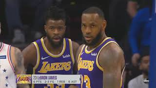 LeBron James Gets Carried By Kyle Kuzma & Joel Embiid Destroys Entire Lakers! Lakers vs Sixers