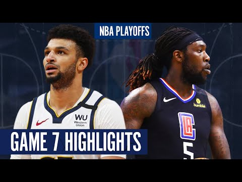 NUGGETS vs CLIPPERS GAME 7 - Full Highlights | 2020 NBA PLAYOFFS
