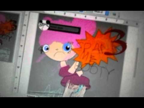 The cartoons spank me