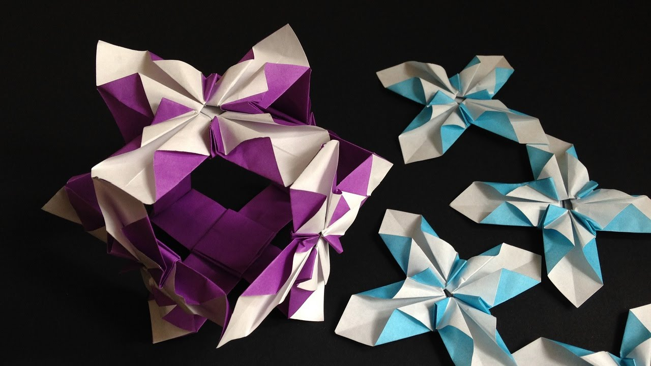origami iris flower instructions ��� � � ��� youtube