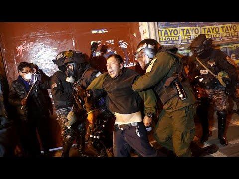 В Боливии столкновения сторонников и противников президента…