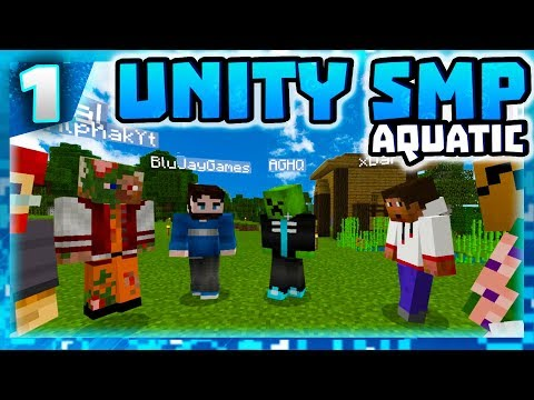 UNITY SMP IS BACK BABY! - E001 - UNITY SMP AQUATIC (MCPE W10 XB1)