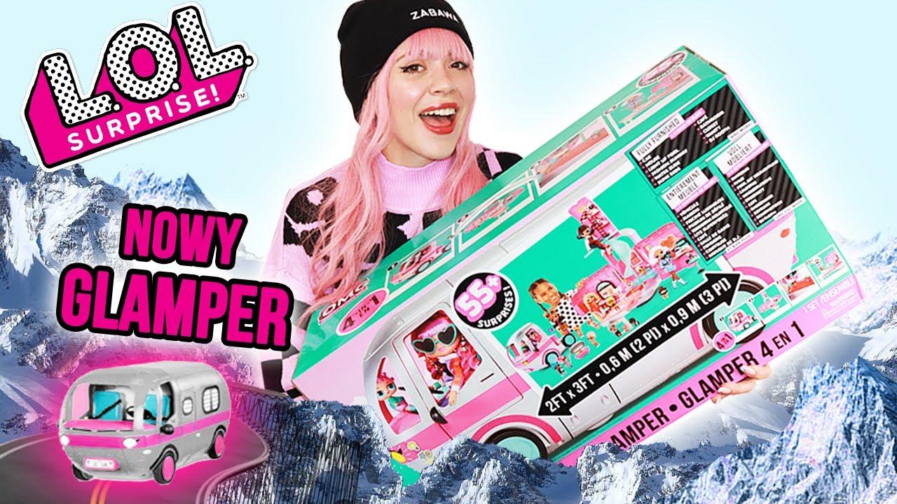 Download ZIMOWY GLAMPER LOL Surprise! ❄ 4 w 1 JEDZIEMY NA WYCIECZKĘ!