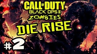 ELEVATOR SCREWJOB - Die Rise Zombies Black Ops 2 w/ Kootra Ep.2