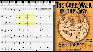 Cake Walk In The Sky by Ben Harney (1899, Ragtime piano)