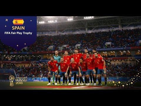 FIFA FAIR PLAY TROPHY - Spain - FIFA World Cup™ Russia 2018