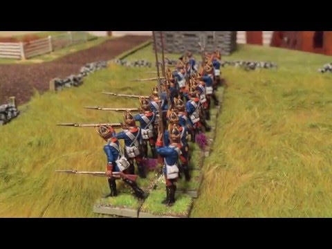Hessian Fusilier Regiment von Lossberg (28mm AWI)