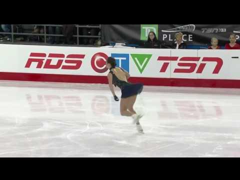 Kaetlyn Osmond 2017 National Canadian National Figure Skating Championships - SP