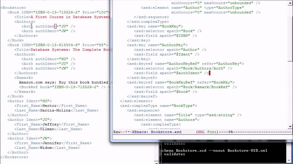 Video | XML Schema | DB2 Courseware | Stanford Lagunita