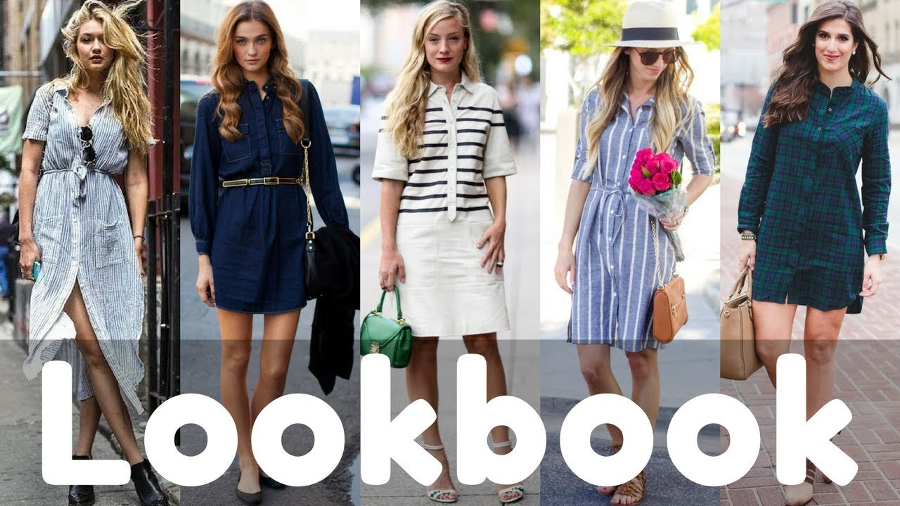Stylish Summer Shirt Dresses Outfit Ideas Trend Fashion Lookbook