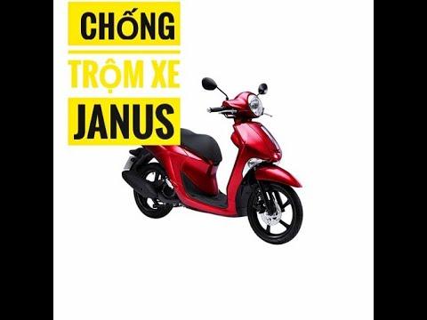 Chống Trộm, Chống Cướp Tuyệt Đối Cho Xe Yamaha Janus