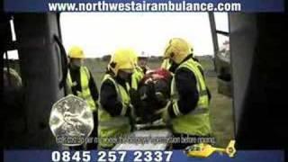 North West Air Ambulance Advert