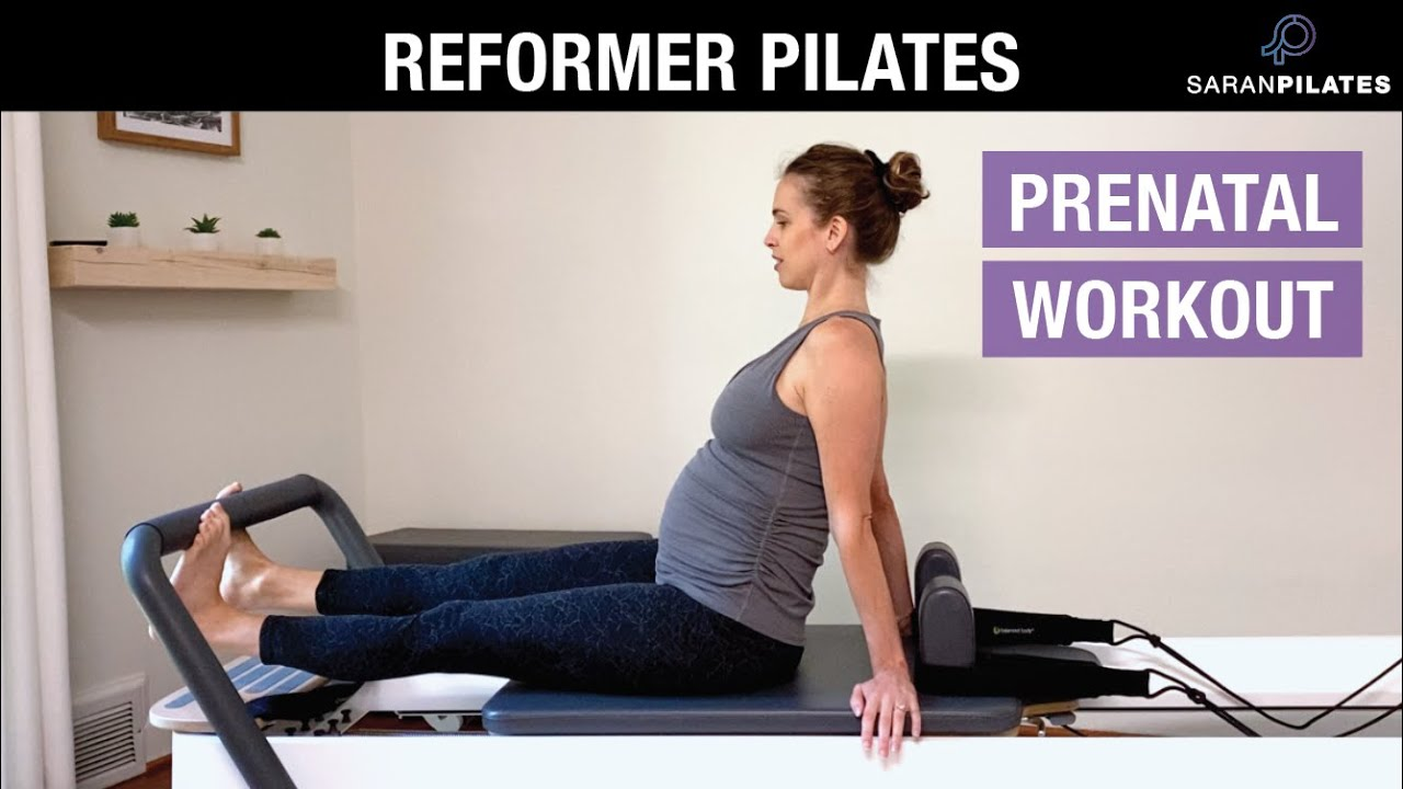 30 Min Prenatal Reformer Pilates