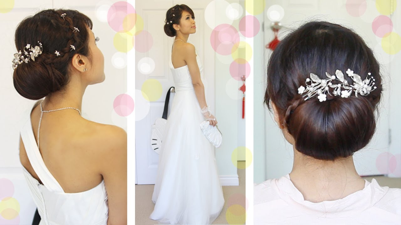 Get Ready With Me Wedding Edition: Classic Bridal Updo - YouTube