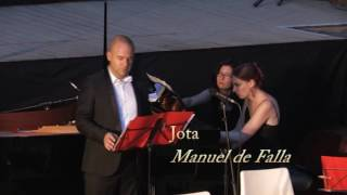Nana and Jota Manuel de Falla by Mathieu Salama mezzo soprano