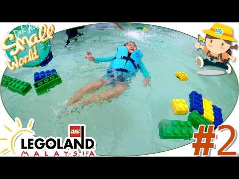 เด็กจิ๋วว่ายน้ำต่อเลโก้ในสระน้ำวน (Lego Land) [N'Prim W313]