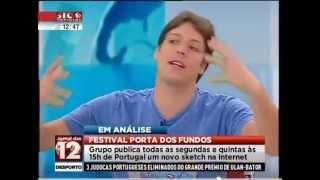 Porta dos Fundos em Portugal - Entrevista SIC Notícias