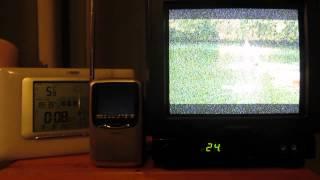 Rowridge BBC 2 Analogue permanent shutdown - Plus my local relay  - 7th March 2012
