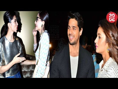 Sonam Rubbishes Rumours Of Catfight With Deepika | Sidharth Introduces Alia To His Parents