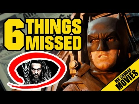 Watch BATMAN V SUPERMAN Trailer 2 Easter Eggs, References & Things You Missed