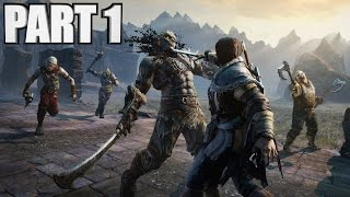 Middle Earth Shadow Of Mordor Gameplay Walkthrough Part 1 PC 1080P
