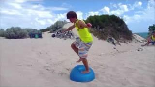 Beach Freerunning and Parkour