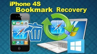 iPhone 4S Recovery: How to recover lost bookmark/contacts from iPhone 4S without iTunes backup