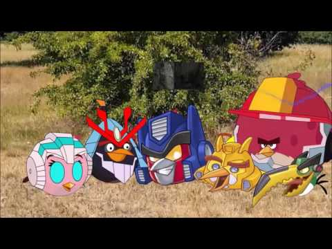 Real life Angry Birds Transformers -Bowser12345