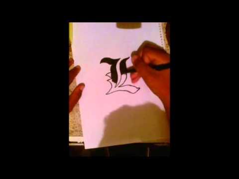 Desenhando ''L''