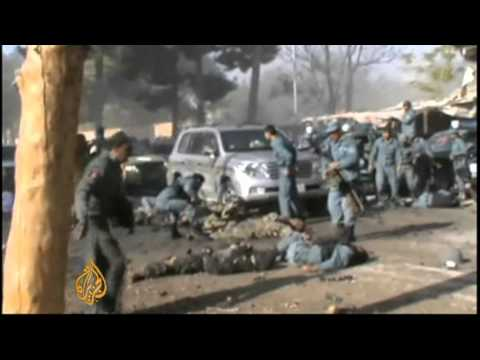Afghan official says Taliban 'resorting to' suicide attacks