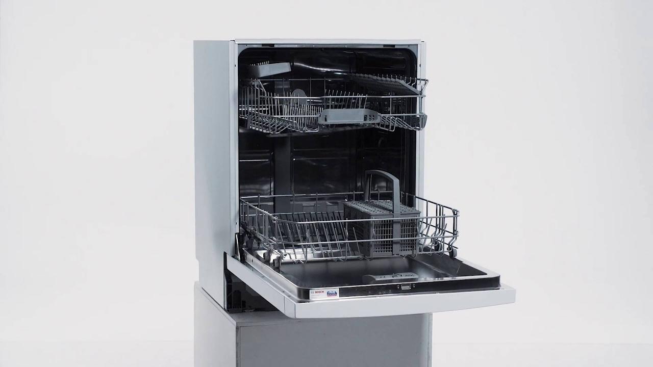 Bosch SMU46AW01S opvaskemaskine - YouTube
