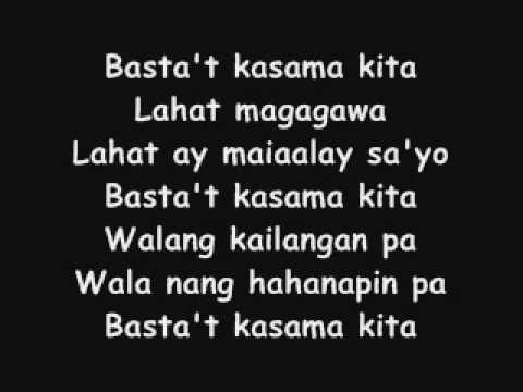 Basta't Kasama Kita by Jessa Zaragoza & Dingdong Avanzado