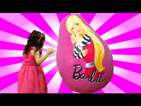 Thumbnail: Barbie Life In The Dreamhouse + Secret Door Dolls Princess Toys in Egg + Giant Dreamhouse