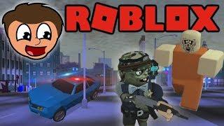 Roblox Zombie Rush & Jail Break With Justin